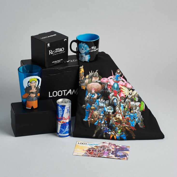 Loot Anime Odyssey March 2019 all contents