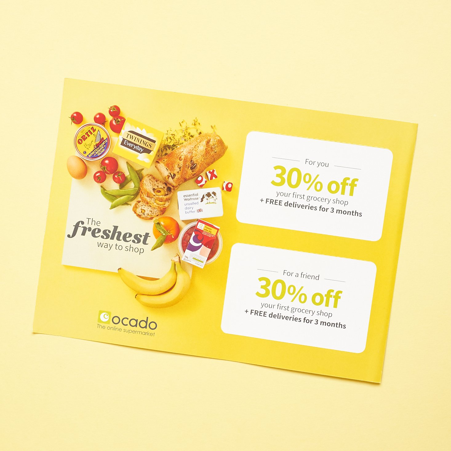 grocery promo front