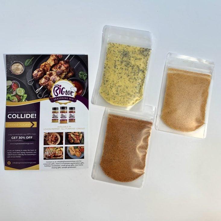 Brown Sugar Box June 2019 - Big Toe Seasoning Sampler 2