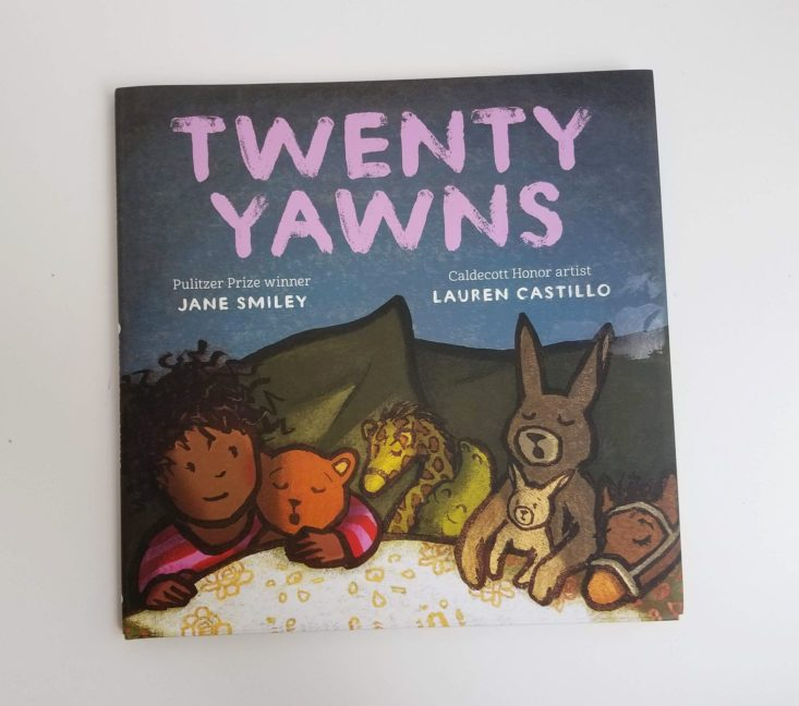 Prime Book Box Ages 3-5 August 2019 Twenty Yawns
