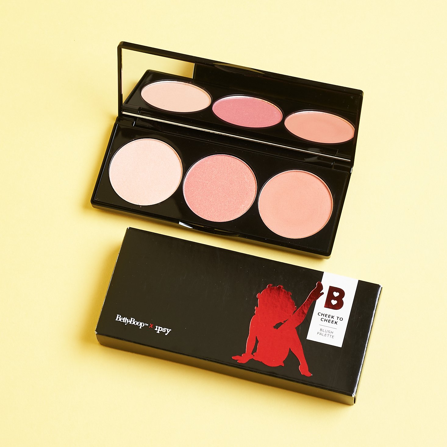 trip of betty boop blushes